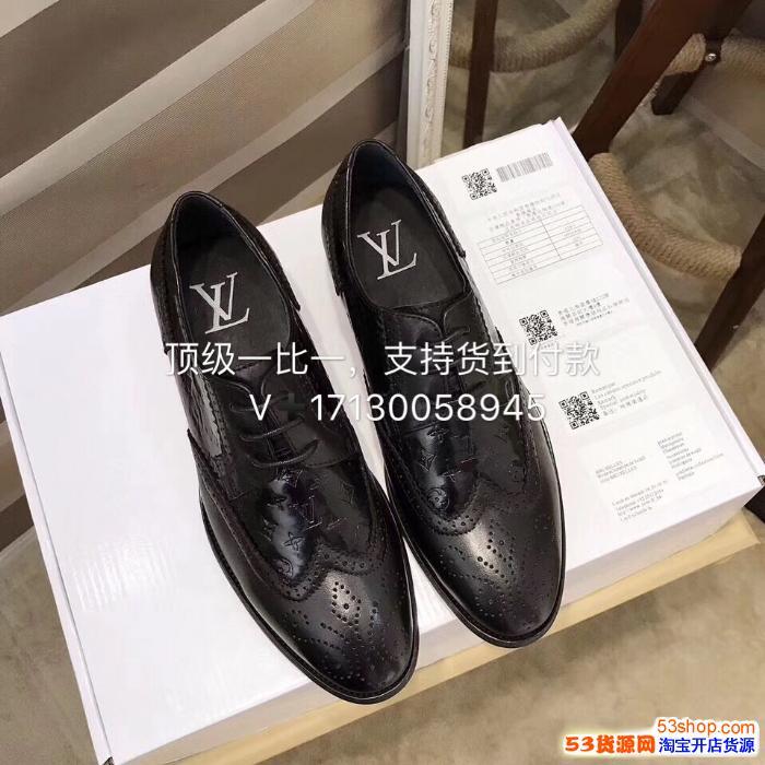 奢饰品L V高仿男鞋原单品质一件代发
