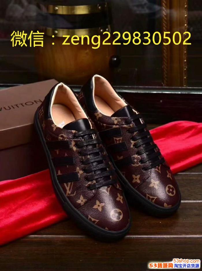 工厂直销一比一奢饰品一比一LV高仿男鞋复刻男鞋