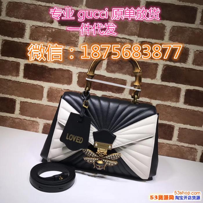 广州白云皮具城超a奢侈品复刻包包1:1 专业G家女包