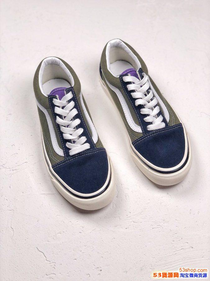 Vans Old Skool 夏天必备单品 安纳海姆板鞋男鞋