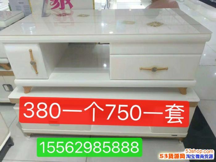 山东临沂客厅家具茶几电视柜自产自销750一套