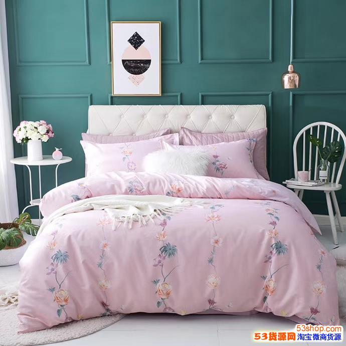 床上用品 夏凉被四件套 家居百货 免费代理 一件代发