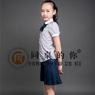 """校服生产厂家我们是专业的――江苏圣澜""""同桌的你""""夏季新款正装校园"""