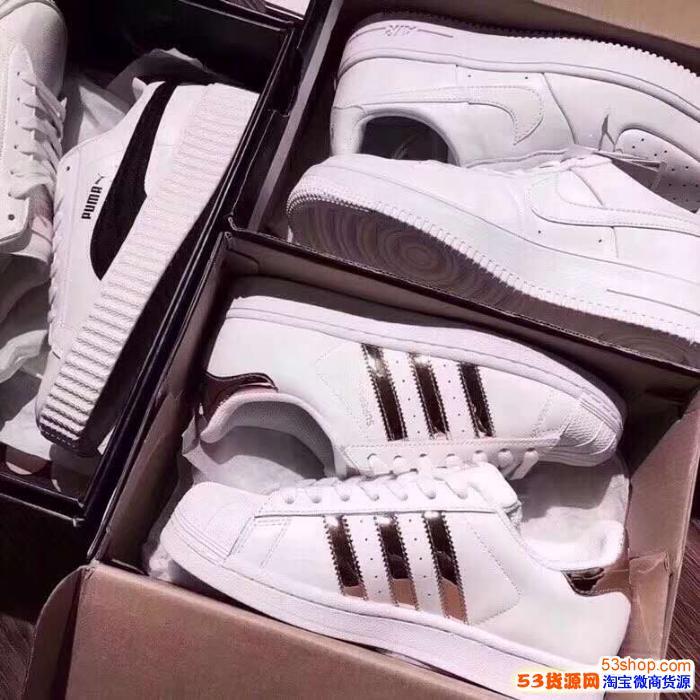 厂家直销免费代理 匡威万斯耐克阿迪新百伦等品牌运动鞋服 一件代发