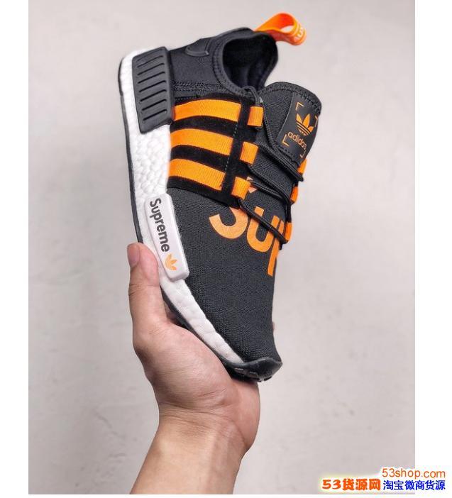 Supreme x NMD R1 定制联名款鞋哪里有卖,多少钱