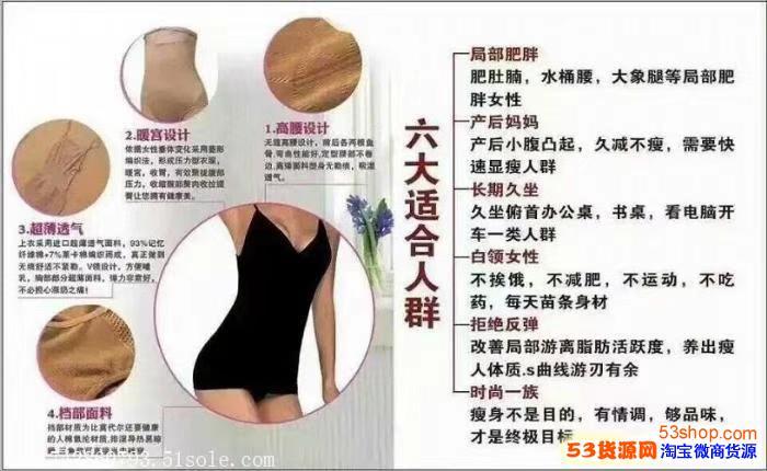 柏尚魅俪塑身衣代理价格表 怎么拿货的?一套多少钱