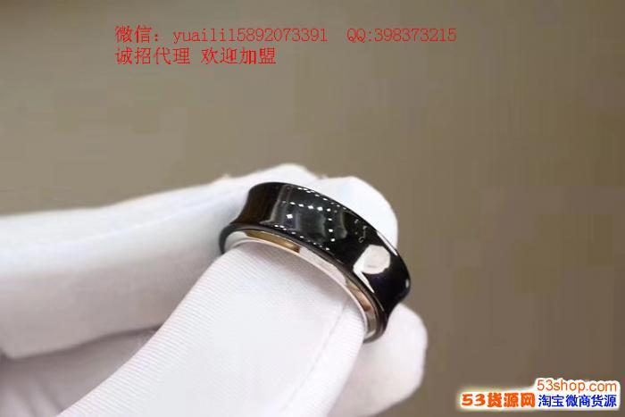 蒂芙尼1837钛金戒指