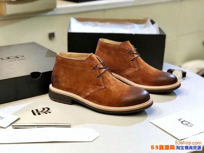 UGG正品代工厂隆丰雪地靴豆豆鞋澳洲OZLANA厂家EDGII