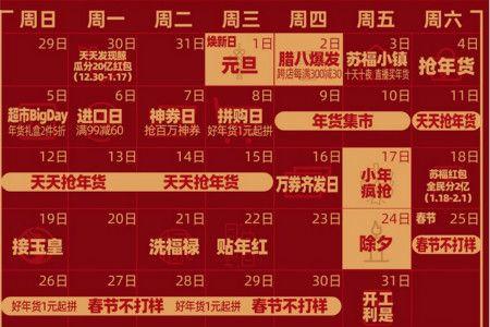 苏宁2020年货节促销时间表一览 20亿红包、多款趣味活动等你来