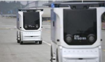 菜鸟国内首个无人车未来园区落地成都,来看看是怎样的