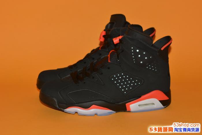 Air Jordan 6 AJ6黑红384664-060