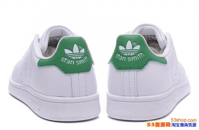 阿迪达斯 Stan Smith 史密斯绿尾板鞋36-44