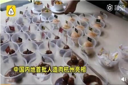 首批国产人造肉亮相阿里巴巴食堂,9月淘宝造物节将推人造肉美食