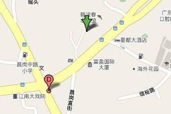 广州昌岗服装批发市场附近酒店宾馆及停车场信息一览