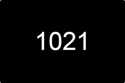 说说网络数字1021的意思含义解析