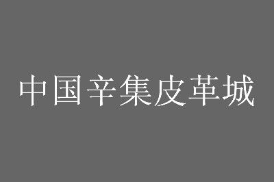 中国辛集皮革城营业时间及各楼层分布一览
