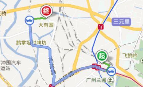 广州火车站去昌岗路尾货批发市场乘车攻略
