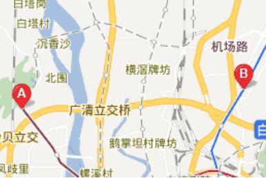 广州白云庆丰纺织城附近的地铁公交路线大全