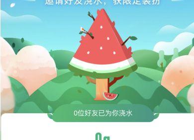 支付宝蚂蚁森林西瓜树装扮获得方法介绍