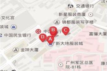 广州新大地服装城是全国最大的毛织服装批发市场