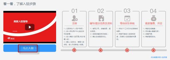 2020京东商家入驻流程及费用标准