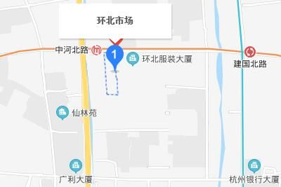 杭州环北市场详细地址及公交地铁乘车指南