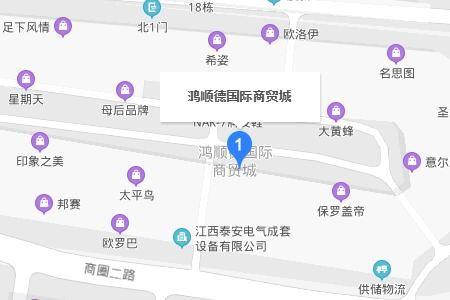 南昌鸿顺德国际商贸城在哪具体乘车线路一览
