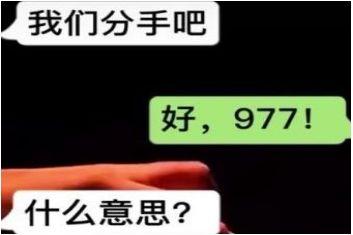 977是什么意思?网络数字含义大全