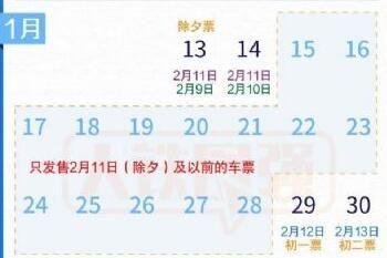 12306怎么买不了春节期间车票,最新春运购票日历2021