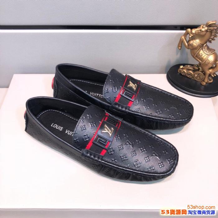 优质高档Lv男鞋货源 各大著�计放� 厂家工厂 *细节 可退换