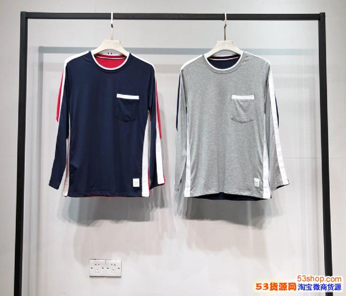 外贸工厂服装批发 高档潮牌厂家 广州蓝卡服饰