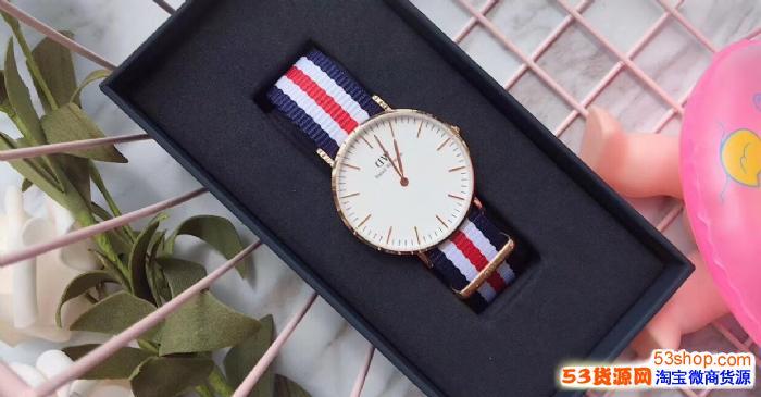 原装dw手表代理微商进货货源 正品dw代工厂进货直销批发代发