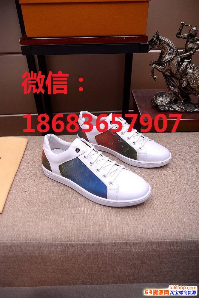 高档男鞋工厂货源 微信代理 一件代发  大牌名牌男鞋