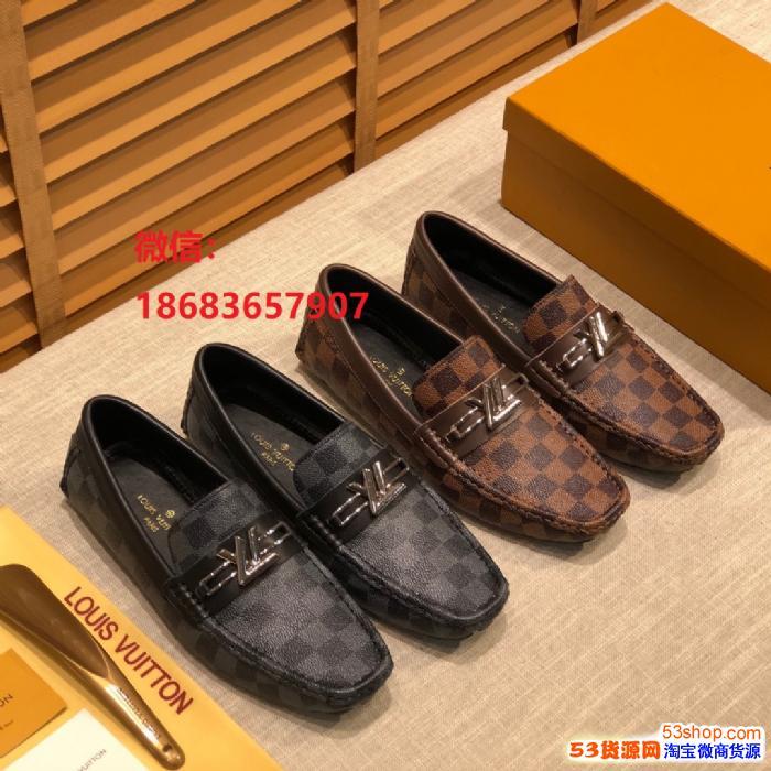 欧美大牌著�计纺行�,时尚潮流休闲男士皮鞋
