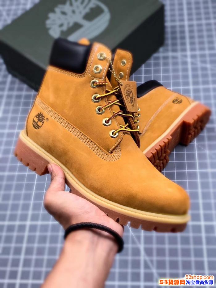 天伯伦添柏岚厂家微信纯原工厂工装靴鞋子厂家一件代发