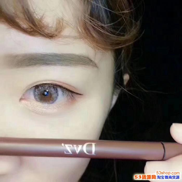 朵色持久液态眼线笔会晕妆吗?