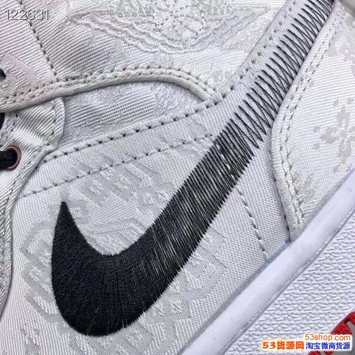 莆田鞋aj1纯原冠希哥白丝绸多少,乔1纯原虎扑版脚感如何,微信号