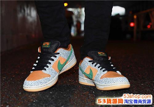 Nike SB Dunk Low Safari 发售日期价格