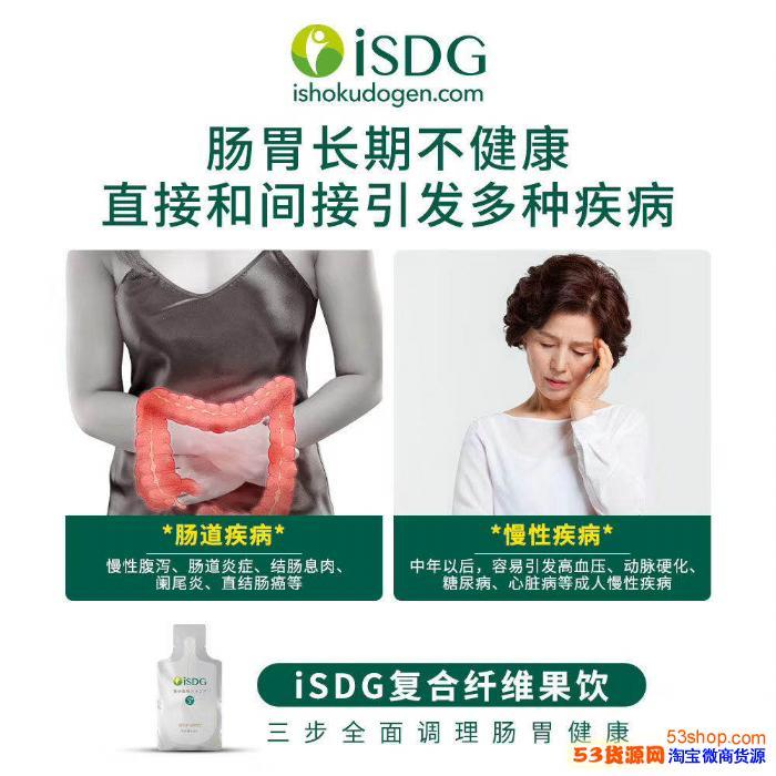 ISDG小s复合纤维果饮谁知道管用吗?