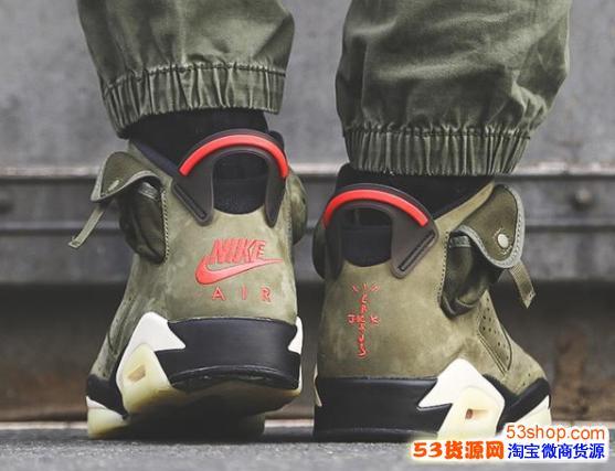 莆田高端版本纯原 公司级 aj6军绿实战靴价格 aj6纯原正品