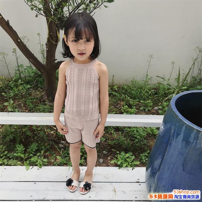 水孩儿童装2020夏季休闲童装批发一件代发 优选优品童装批发网