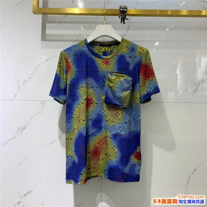高档国际品牌厂价男装批发市场在哪里找得到短袖体恤