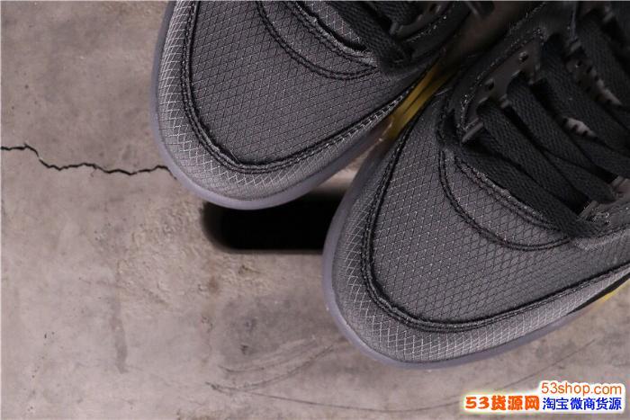 2020莆田鞋纯原公司级 aj5脚感-纯原乔5上脚 aj微商微信