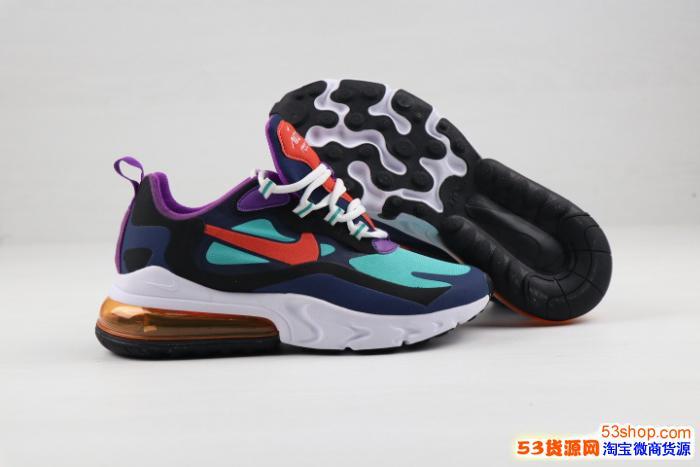 Nike耐克官方AIR MAX 270 REACT女子休闲运动鞋