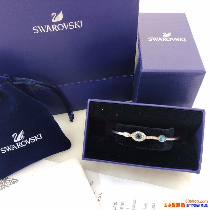大牌施华洛饰品项链耳环首饰,货源厂家,一件代发。