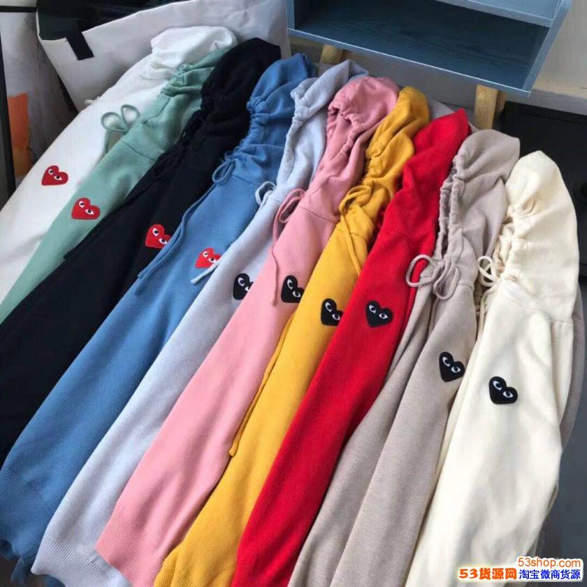 新款川久针织衫连帽衫秋冬款女,68一件,厂家批发,一手货源