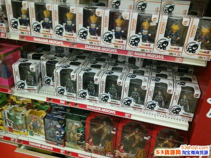 玩具代理一件批发,动漫周边产品网店代理 提供数据包