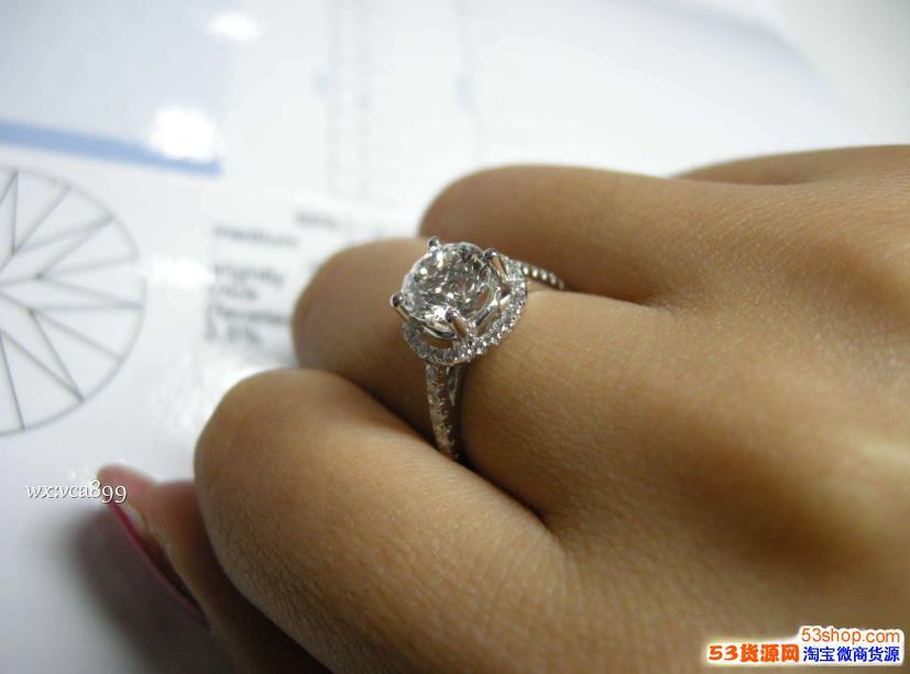 莫桑钻石多少钱一克拉 咱们干饭人买得起的平价钻戒