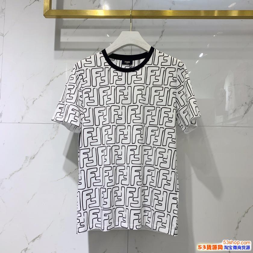 高级品质DG 麦昆 范思哲 纪梵希 芬迪男装短袖短裤 批发零售