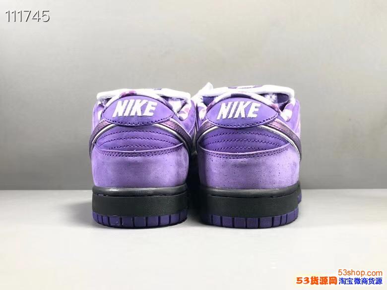 nike紫���r一眼辨真假�Ρ�  �原nikedunk紫���r�b定